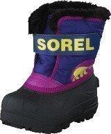 Sorel Children's Snow Commander 484 Grape Juice