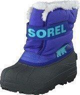 Sorel Childrens Snow Commander Purple Lotus Clear Blue