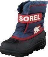 Sorel Snow Commander 591 Nocturnal Sail red