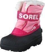 Sorel Snow Commander 644 Coral Pink Bright Rose
