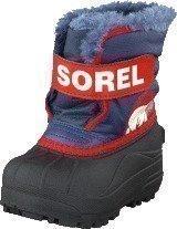 Sorel Snow Commander NV1805-591 Nocturnal/Sail Red