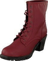 Sthlm Dg Laced Boots Red