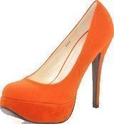 Sugarfree Shoes Bowie Rust Orange