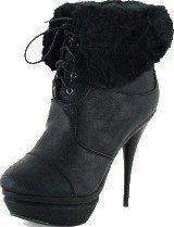 Sugarfree Shoes Dora Black