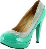 Sugarfree Shoes Gladys Mint Green