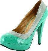 Sugarfree Shoes Gladys Mint Green