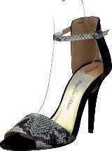 Sugarfree Shoes Shiela Black/Snake
