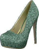 Sugarfree Shoes Siri Glitter Mint green glitter