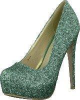 Sugarfree Shoes Siri Glitter Mint green glitter