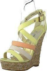 Sugarfree Shoes Sunflower Yellow/Peach