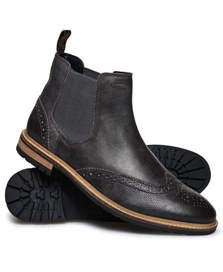 Superdry Brad Brogue Premium Varsikengät Musta
