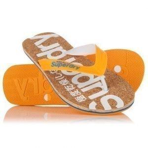 Superdry Cork Varvassandaalit Oranssi