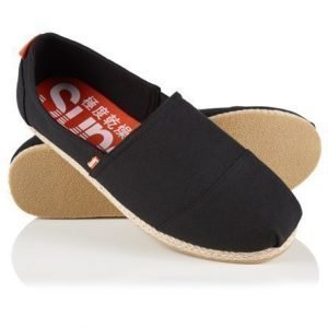Superdry Jetstream Espadrillot Musta