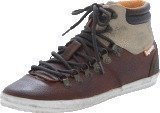 Superdry Mountain sneaker Brown Tumbled Leather