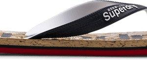 Superdry Printed Cork Flip Flop Sandaalit