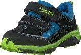 Superfit Sport5 Low Gore-Tex Black/Blue/Green
