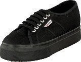 Superga Lady 2790-Cotw Linea and Down 996 full black