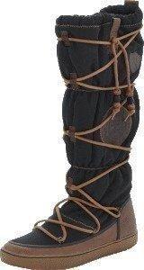 Svea Idre 8 Black Nylon Leather