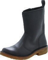 Swedish Hasbeens Danish Boot Black/Nature