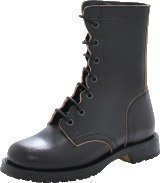 Swedish Hasbeens Military Boot Black