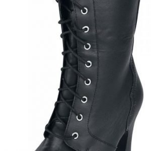 T.U.K. Black Girly Boot Varsikengät