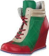 Ten Points Pastilha Red/Green/Beige