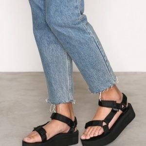 Teva Flatform Universal Sandaalit Musta