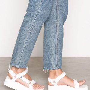 Teva Flatform Universal Sandaalit Valkoinen