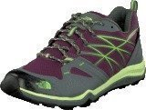 The North Face W Hedgehog Fastpack Lite Gtx Black Currant Purple/Green