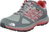 The North Face W Litewave Gtx Gri Gry/Ram Pin