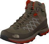 The North Face W Wreck Mid GTX Brown