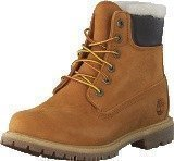 Timberland 6 In Prem Shearling Lined Wheat Nubuck