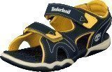 Timberland Adventure 2-strap sandal Navy/Yellow