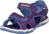 Timberland Adventure 2-strap sandal Purple/Periwinkle