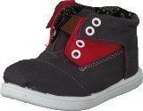 Toms Botas Grey Red Block