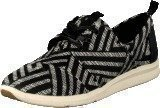 Toms Del Rey Sneaker Black
