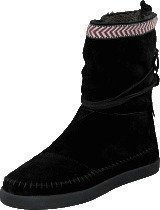 Toms Nepal boot Black suede trim