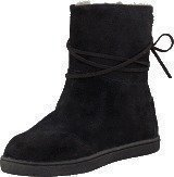Toms Suede Youth Nepal Boots Black