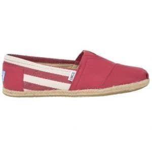 Toms University Classics Red Stripe