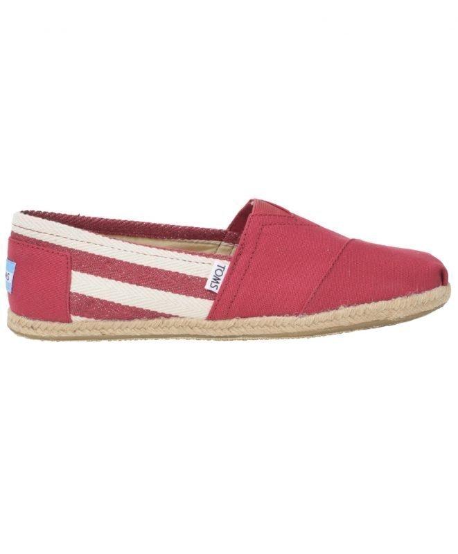Toms University Classics Red Stripe