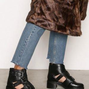 Topshop Buckle Boots Bootsit Black
