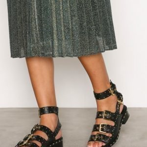 Topshop Buckle Sandals Sandaalit Black