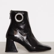 Topshop Malone Ankle Boots Kiiltonahkasaapikkaat Black