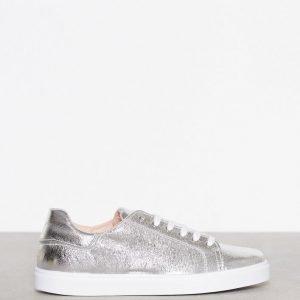 Topshop Metallic Lace Sneaker Tennarit Hopea