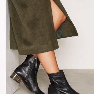 Topshop Perpsex Heeled Boots Nilkkurit Black