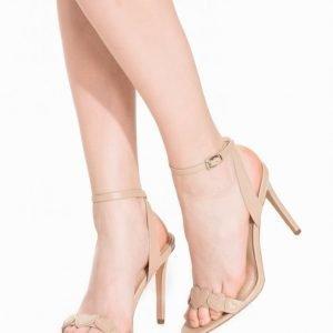 Topshop Romantic Heart Sandals Sandaletit Beige