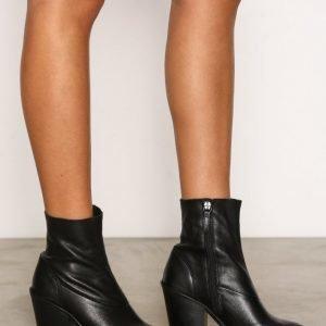 Topshop Sock Boots Bootsit Black
