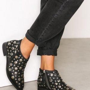 Topshop Studded Boots Bootsit Black