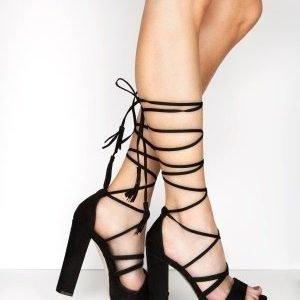 Truffle Lace Up Sandaletit