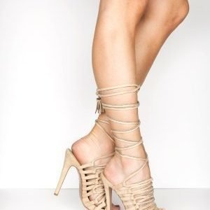 Truffle Lace Up Sandaletit